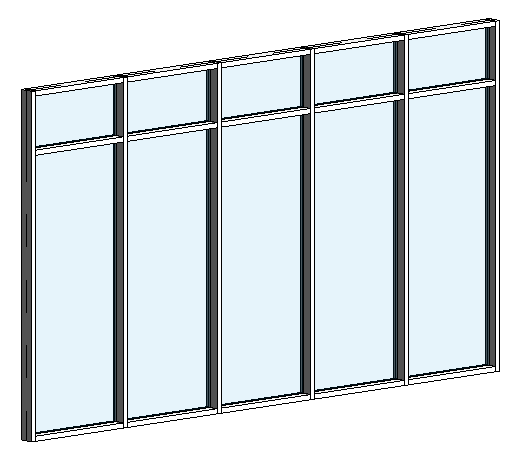 Curtain Walls in Revit