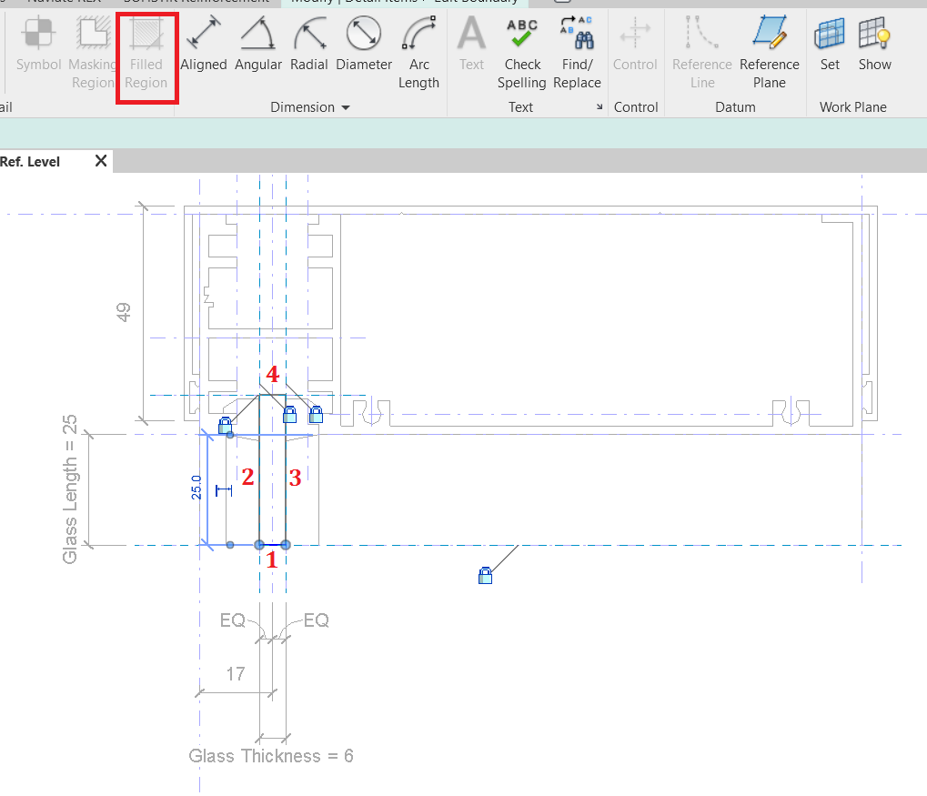 Create Filled Region In Revit